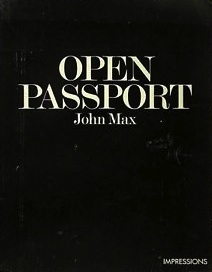 "John Max, ""Open Passport"" (1974), cover"