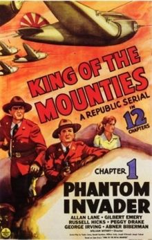 """King of the Mounties"" (1942), movie poster"