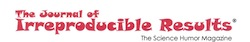 Journal of Irreproducible Results logo