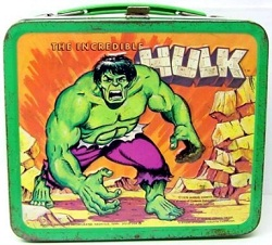 Aladdin Incredible Hulk lunchbox