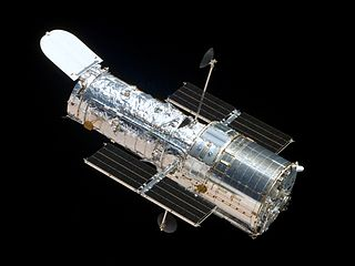 The Hubble Space Telescope as seen from the departing Space Shuttle Atlantis, May 19, 2009. Courtesy of NASA.