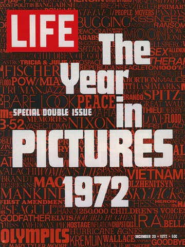 LIFE magazine cover, final issue, December 29, 1972