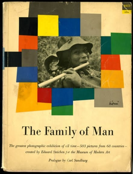 "Edward Steichen, ""The Family of Man"" (1955), cover"