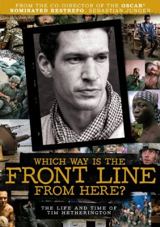 """Which Way Is the Front Line From Here?"" (2013), poster"