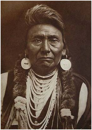 "Edward Curtis, ""Chief Joseph-Nez Perce,"" 1903"
