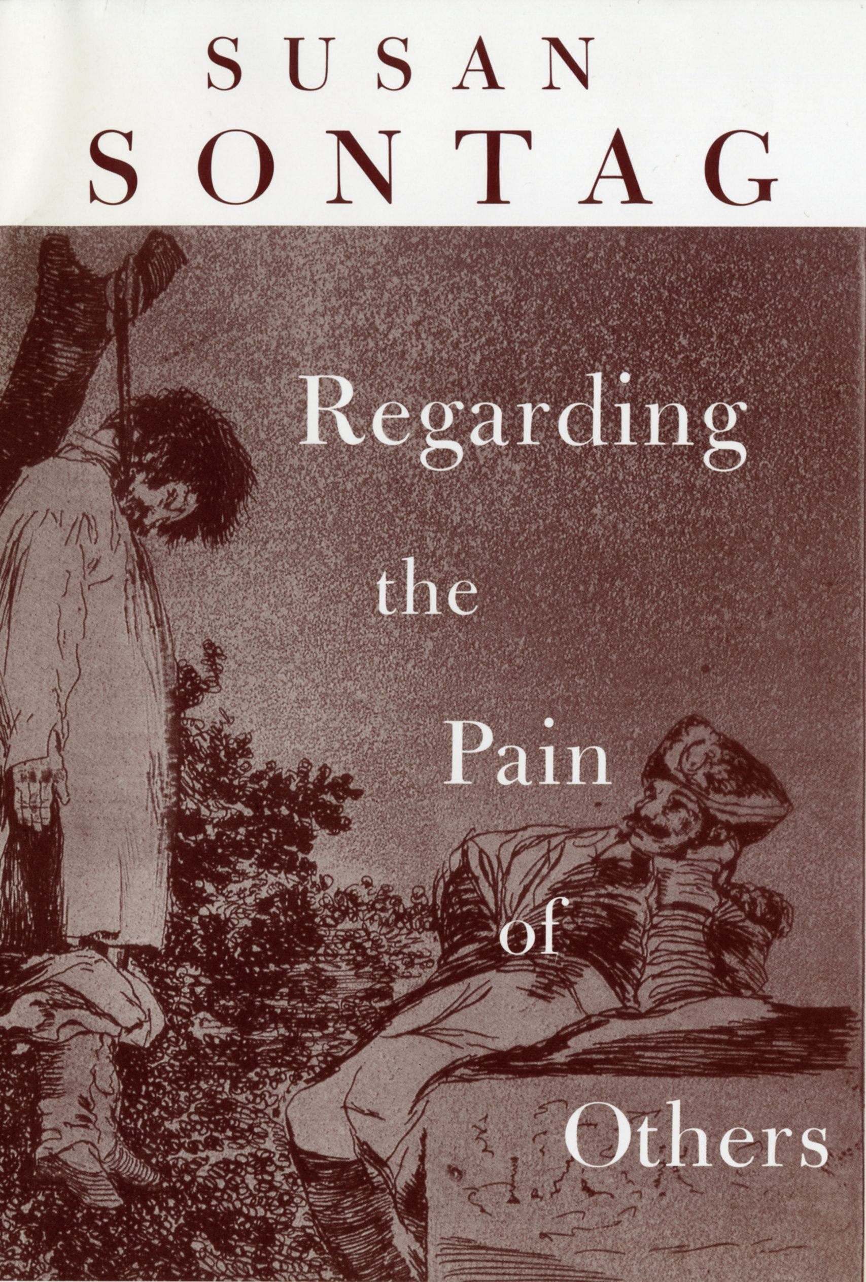 "Susan Sontag, ""Regarding the Pain of Others"" (2003), cover"