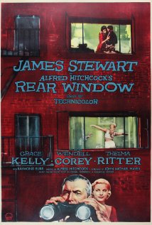 "Alfred Hitchcock, ""Rear Window"" (1954), poster."