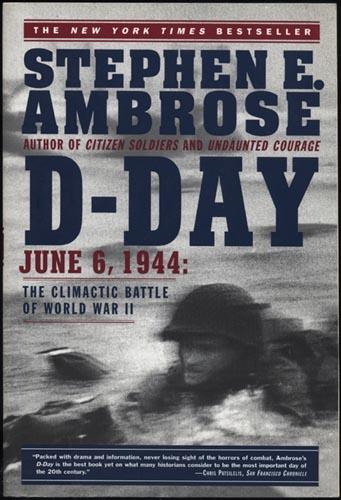 Stephen E. Ambrose, D-Day (1994), cover