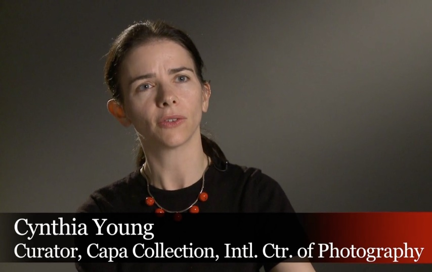 "Craig Duff, ""The Iconic Photo of D-Day,"" video (2009), Cynthia Young, screenshot."