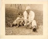 ADC with James Allan, Elkins, West Virginia, ca 1946.