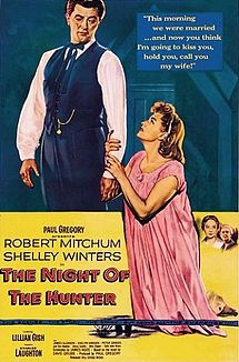 """""""The Night of the Hunter"""" (1956), poster"""