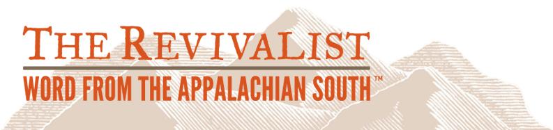 """Mark Lynn Ferguson blog, """"The Revivalist,"""" logo"""