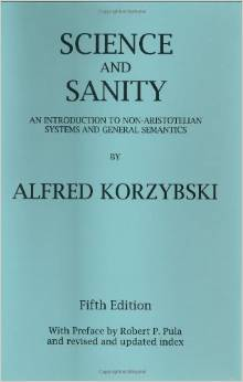 """Alfred Korzybski, """"Science and Sanity"""" (1933), cover"""
