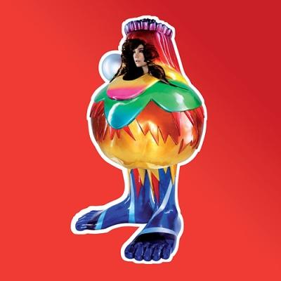 """Björk, """"Volta"""" (2007), cd cover"""