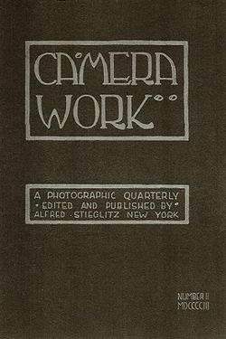 """Camera Work"" No, 2 (1903 ), cover, designed by Edward Steichen"