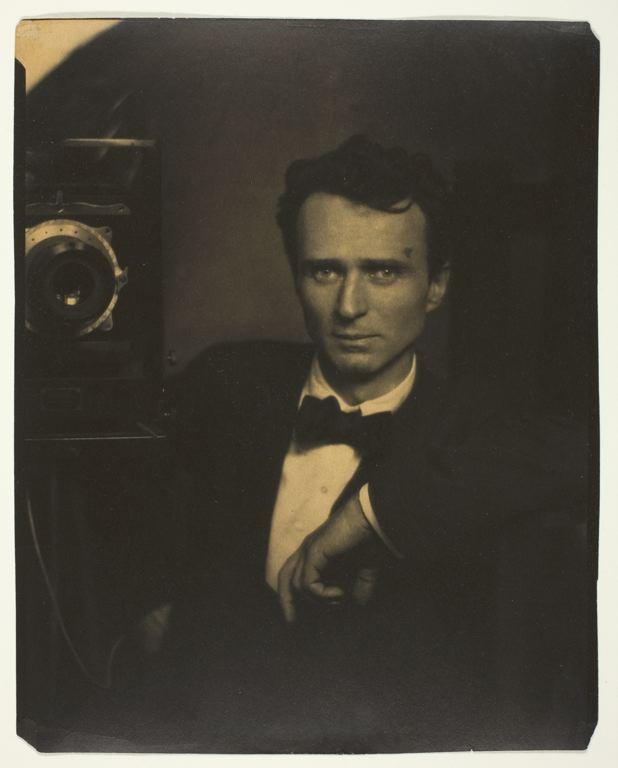 "Edward Steichen, ""Self-Portrait with Camera,"" 1917"