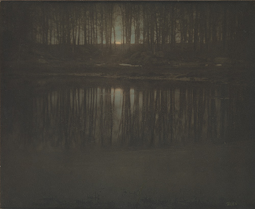 "Edward Steichen, ""The Pond — Moonrise,"" 1904"