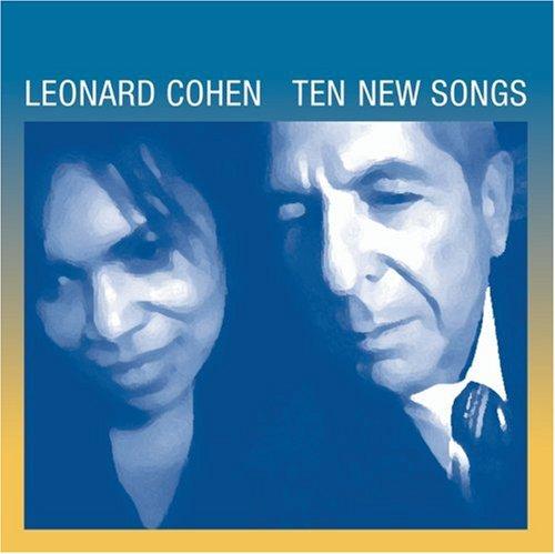 """Leonard Cohen, """"Ten New Songs"""" (2001), cd cover"""
