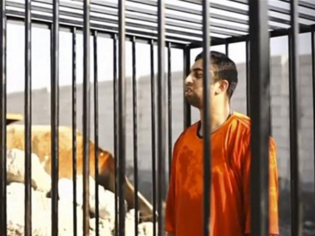 Fox News, ISIS video of Jordanian pilot's execution, 2015, screenshot (e)
