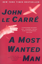 "John Le Carré, ""A Most Wanted Man"" (2008), cover"