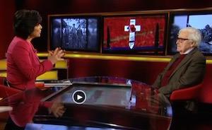 John Morris on Christiane Amanpour's CNN show, 11-11-14, screenshot