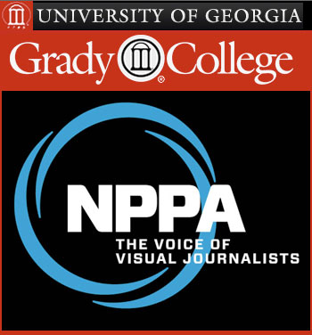 NPPA-Grady College logo