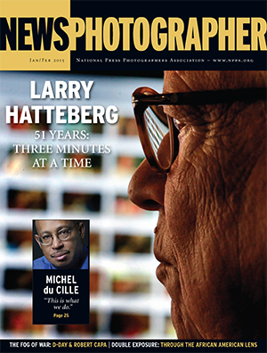 NPPA News Photographer, January-February 2015, cover