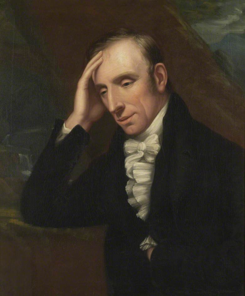 Portrait of William Wordsworth by Richard Carruthers