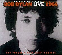 "The Bootleg Series, Vol. 4: Bob Dylan Live 1966, The ""Royal Albert Hall"" Concert, cover"