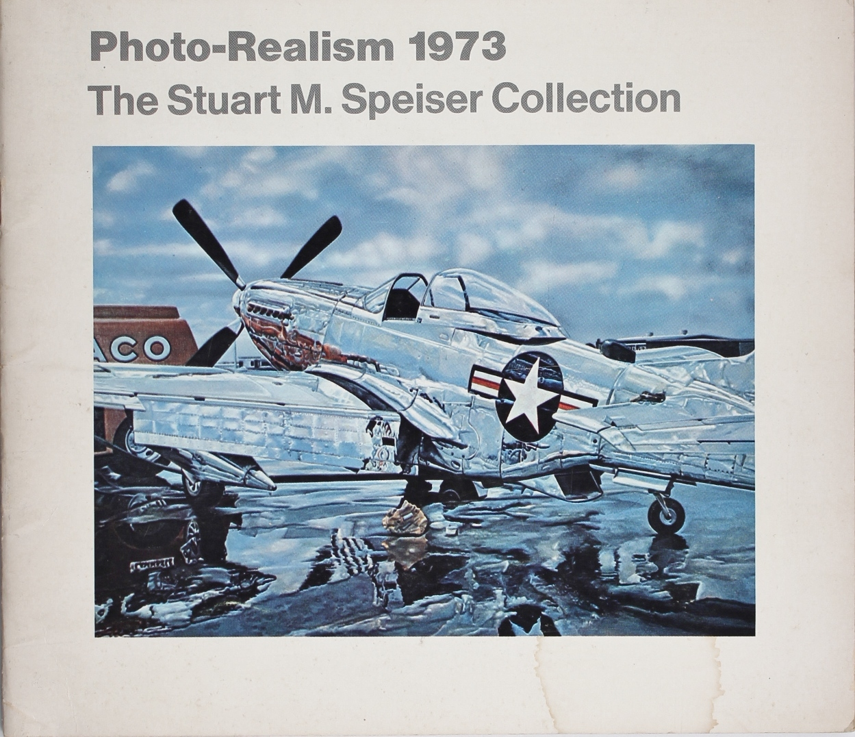 """""""Photo-Realism 1973: The Stuart M. Speiser Collection,"""" cover"""