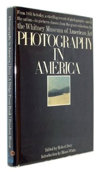 """Robert M. Doty, """"Photography in America"""" (1974), cover"""