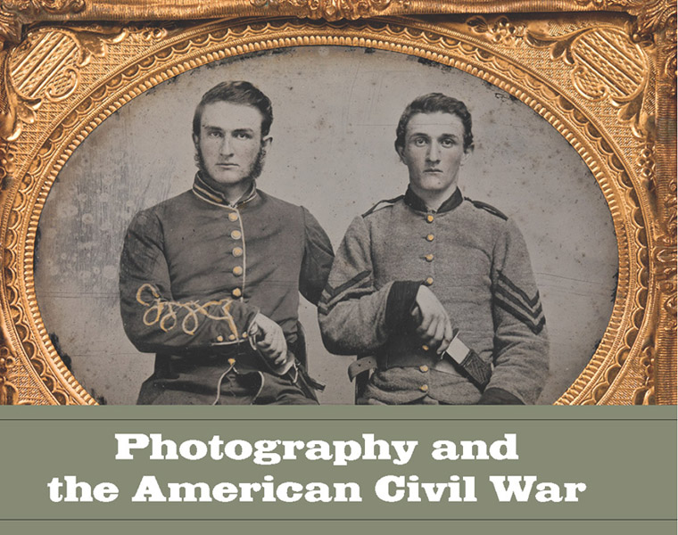 """Rosenheim, Jeff, """"Photography and the American Civil War"""" catalog (2013), cover"""