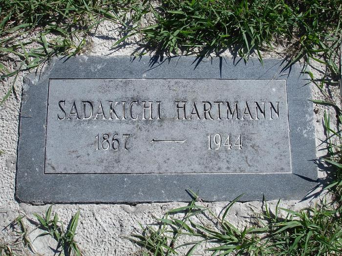 Sadakichi Hartmann's headstone, St. Petersburg, FL
