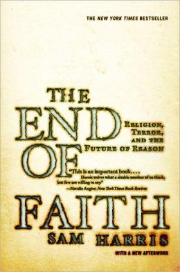 """Sam Harris, """"The End of Faith"""" (2004), cover"""