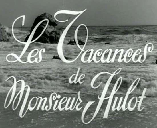 Les Vacances de M. Hulot (Mr. Hulot's Holiday), 1953, title screen
