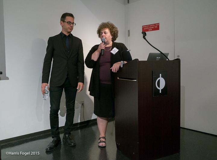 Grayson Dantzic (l), Mary Engel (r), APAG Seminar 2015