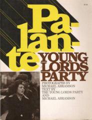 "Michael Abramson, ""Palante"" (1971), cover"