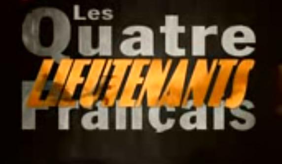"""Patrick Jeudy, """"Les quatre lieutenants français"""" (1994), title, screenshot"""