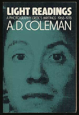 A. D. Coleman, Light Readings (1979), cover