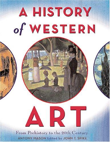 Antony Mason, A History of Western Art (2008), cover