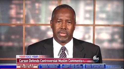 Ben Carson, ABC News, September 2011, screenshot