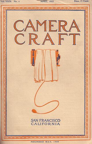 Camera Craft, April 1922