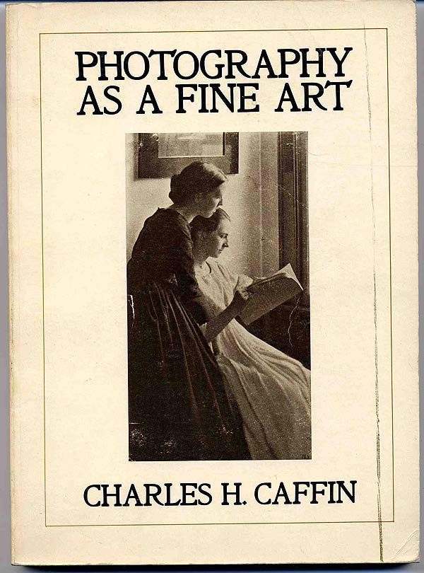 """Charles Caffin, """"Photography as a Fine Art"""" (1901), cover"""