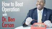 """""""How to Beat Operation with Dr. Ben Carson"""" video, 2015, screenshot"""