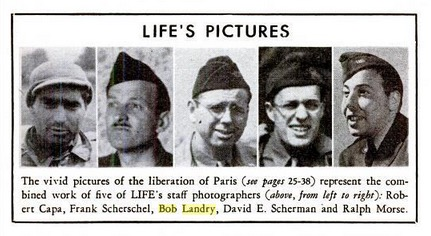 LIFE photographers, September 11, 1944, p. 23