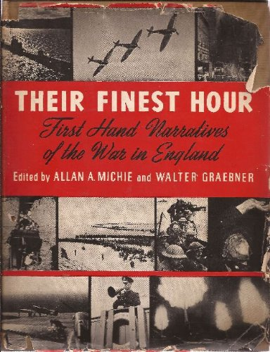 "Allan Michie and Walter Graebner, ""Their Finest Hour"" (1941), cover"