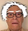 A. D. Coleman as Bernie Sanders, selfie, 3-3-16
