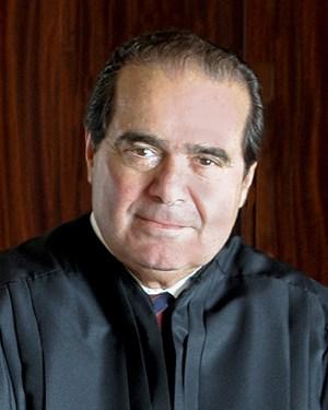 Supreme Court Justice Antonin Scalia, official portrait