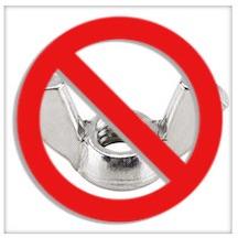 No wingnuts logo