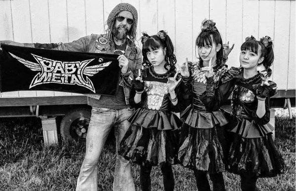 Babymetal meets Rob Zombie, 2016
